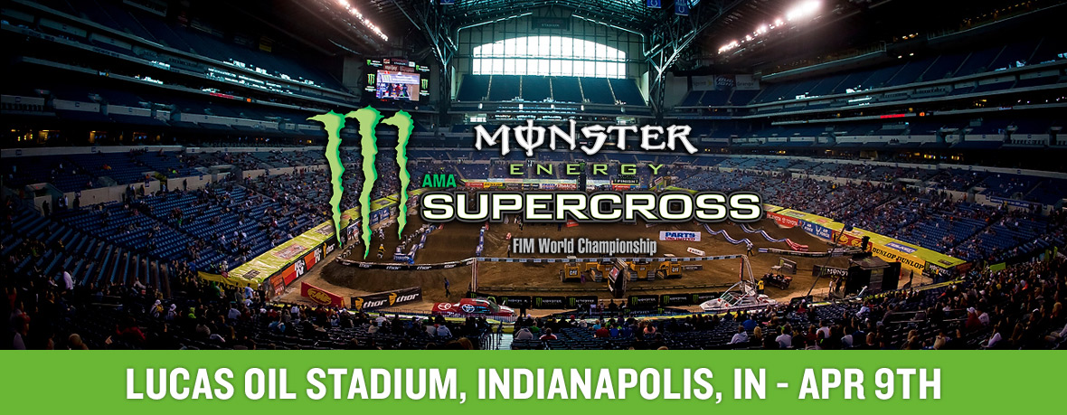 Monster Energy Supercross Indianapolis